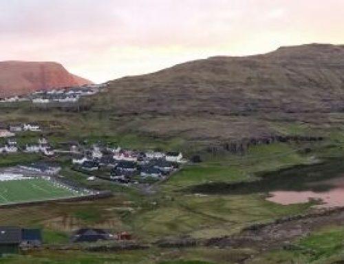 83330 qm Kunstrasen Domo VarioSlide 50mm auf den Färöer Inseln, Kommune Eidi in KW 23/24 2014