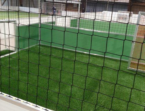 rund 1.700qm Kunstrasen für Indoor-Soccerhalle in Hamburg in  KW 06-07 /2020